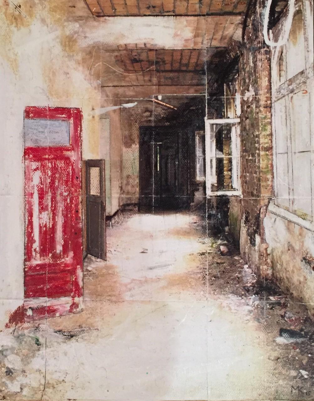 Red Door_24x30cm