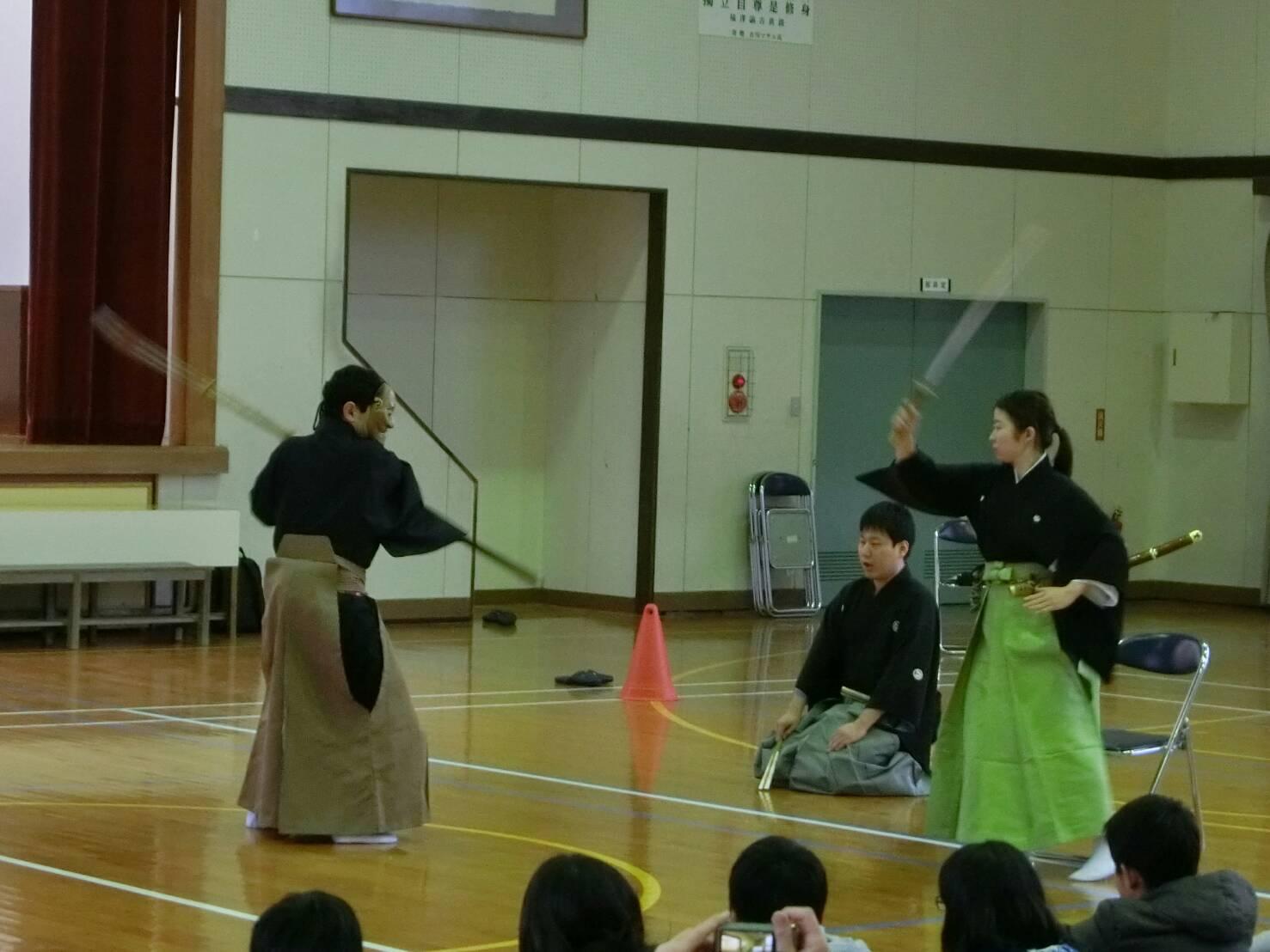 桜野小学校訪問