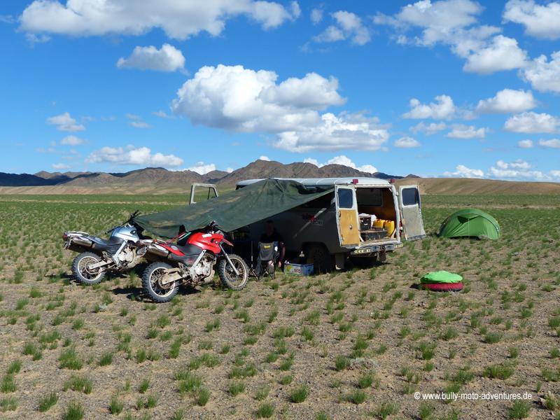 Mongolei (2018) - Motorradreise
