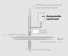 Falls eurer Googlemap nicht funktioniert, hier eine Darstellung.
