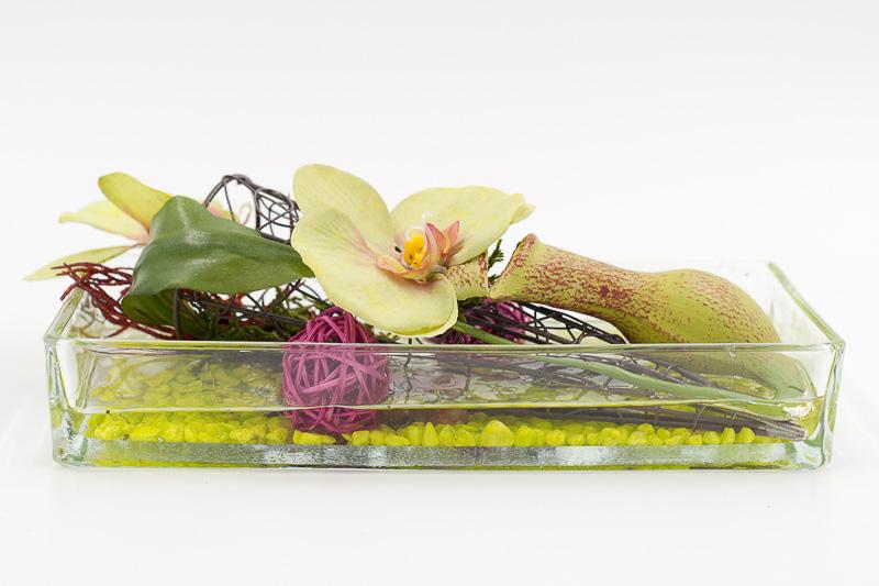 Glasgefasse Barbara Floral Deco