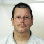 Maurizio Gerussi, Chef instructeur Karatédo et chef des arbitres STKF, 7ème Dan, Berne
