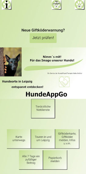 Hunde App für Leipzig