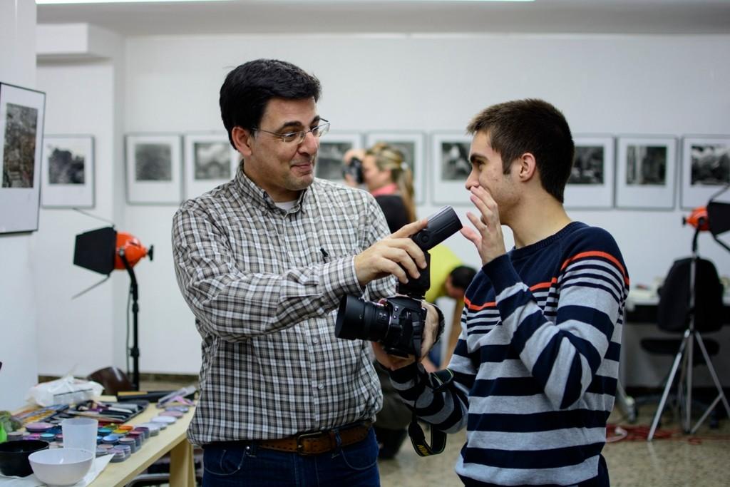 Fotografia: Raul Uroz, Con Marc Colilla