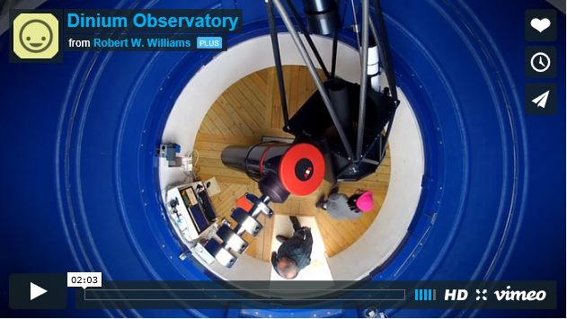 Video of the Dinium Observatory
