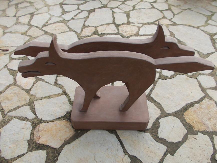 skulpturen aus beton metall holz und lichtobjekte percygliemanns webseite. Black Bedroom Furniture Sets. Home Design Ideas