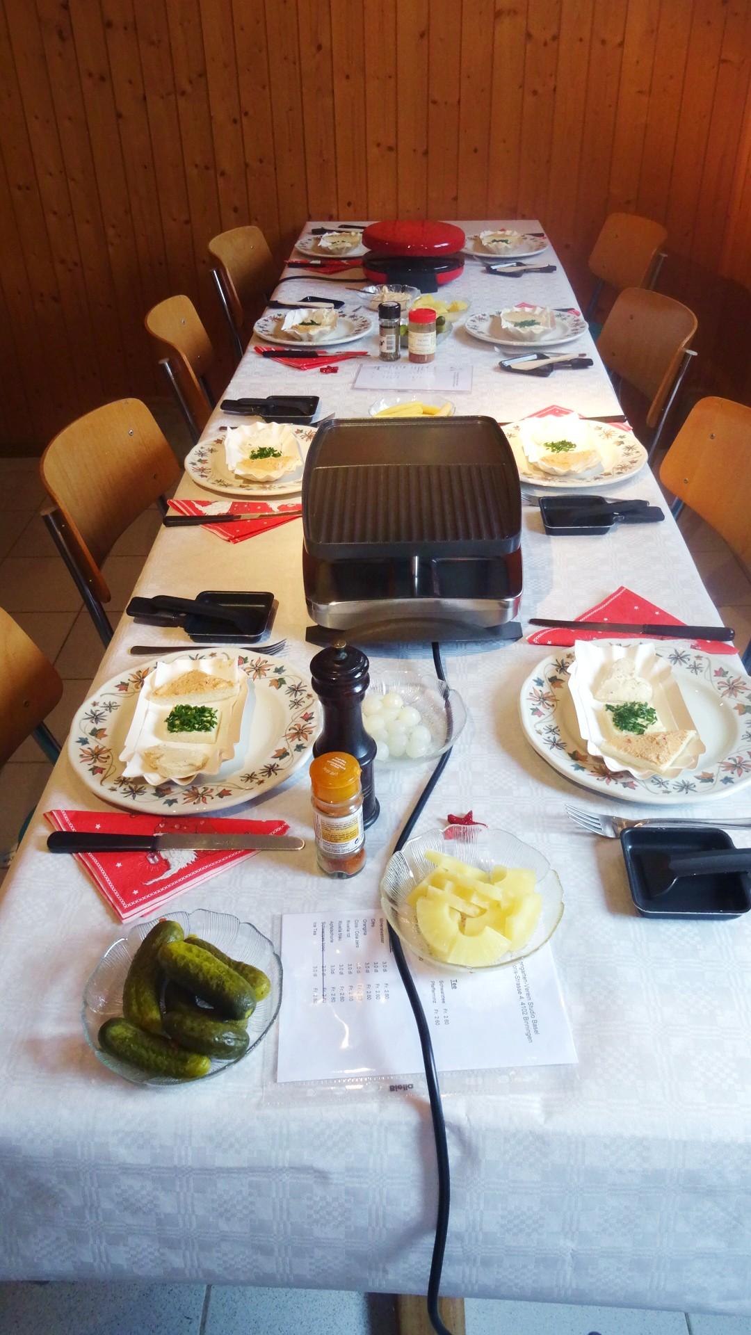 Der schön gedeckte Tisch