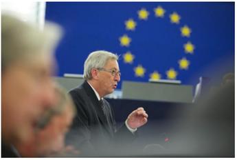 Jean Claude Juncker - Straßburg, 15. Juli 2014
