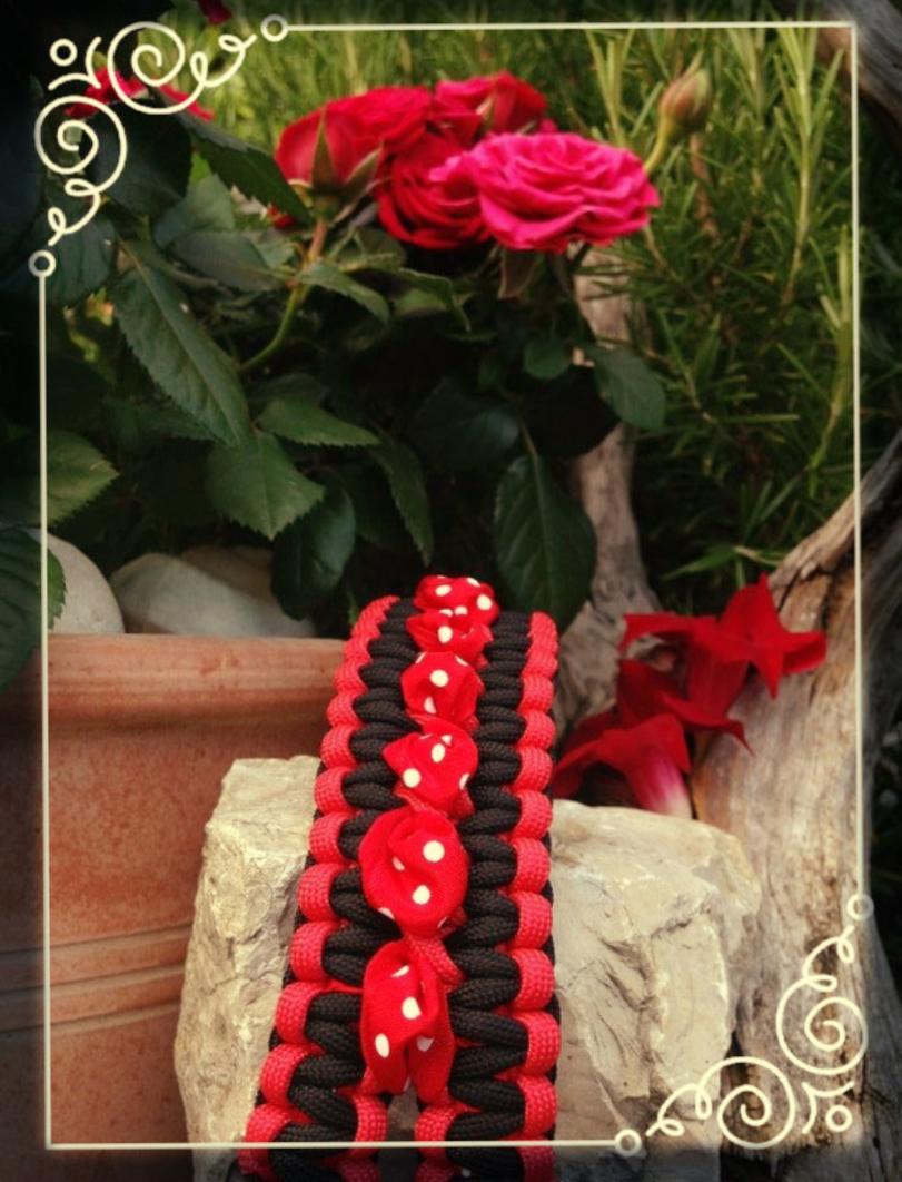 "Petticoat ""red - black"" Band red"