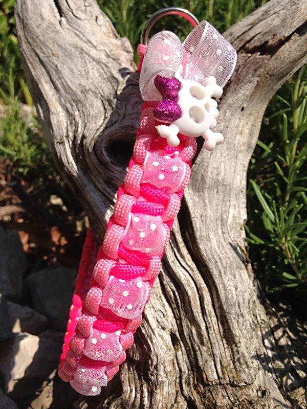 """Tussi """"rosa - pink"""" mit Schleifenband weiss"""