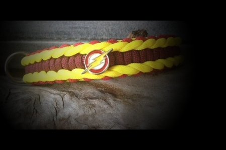 "The Flash ""yellow - red - burgund"" Cobra mit Rand"