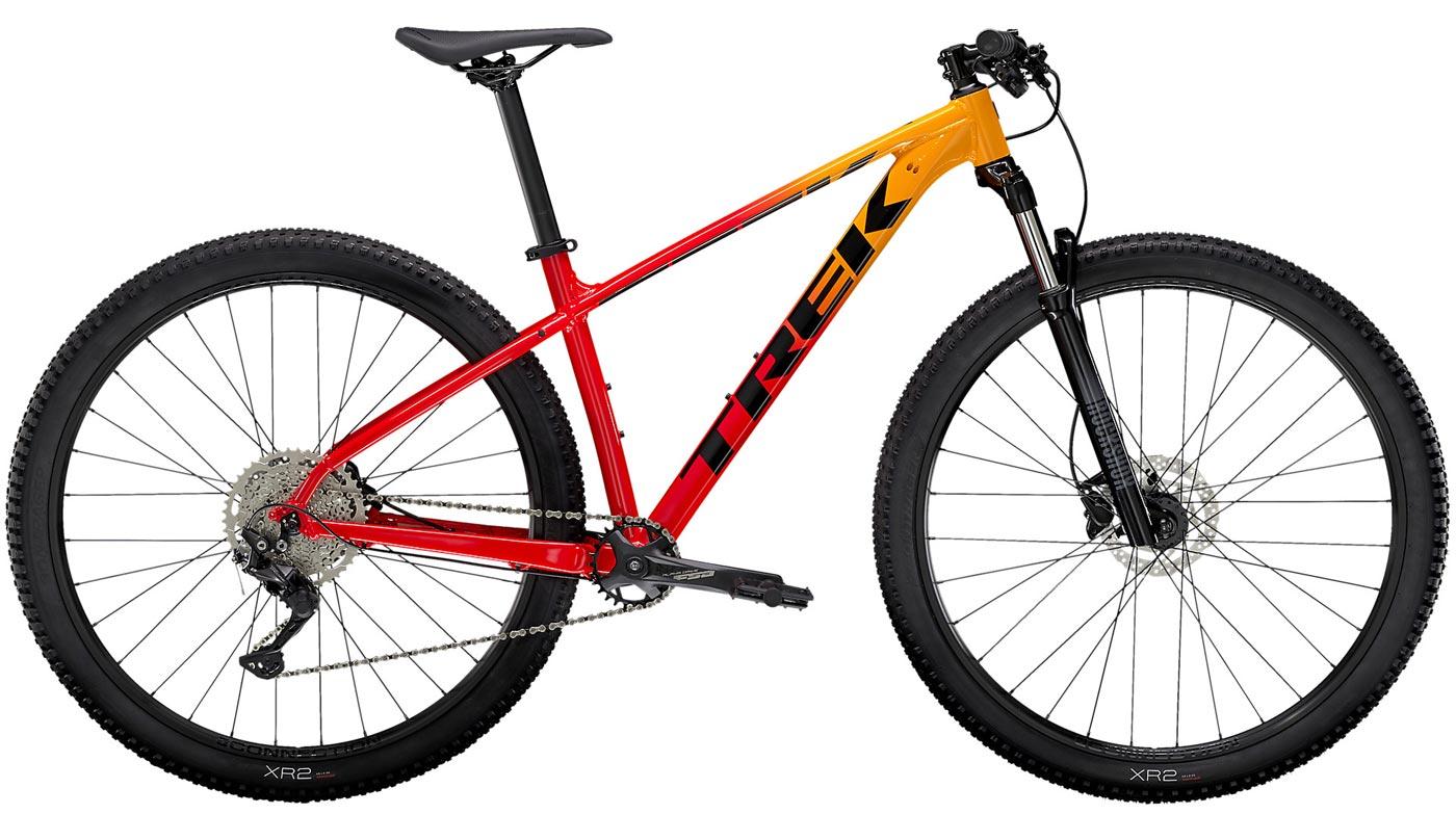 Mountainbike TREK Marlin 7 gelb orange