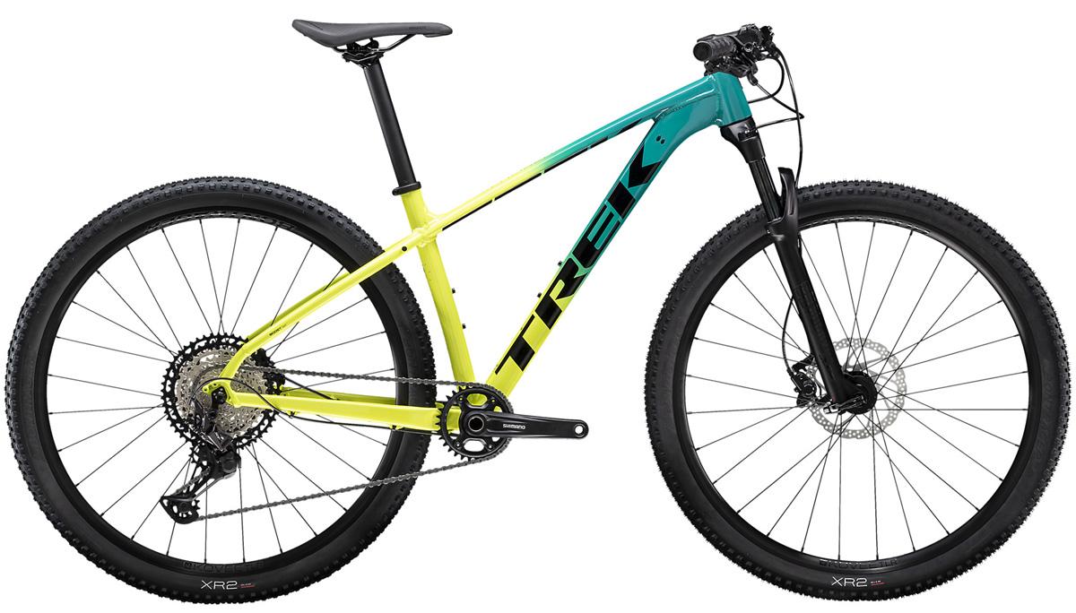 Mountainbike Trek X-Caliber 9 volt/tuerkis