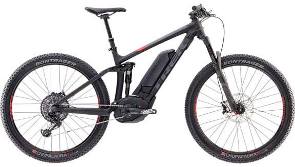 Miete E-Mountainbike vollgefedert TREK Powerfly FS 9