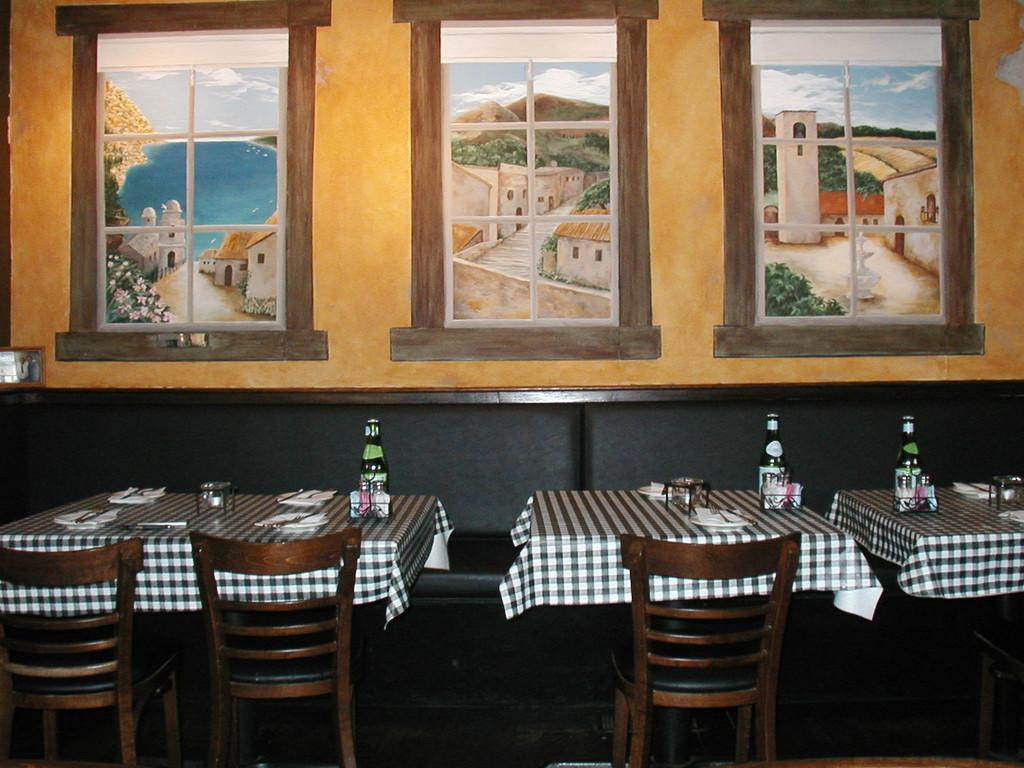 La Storia Trattoria - Tuscany triptych
