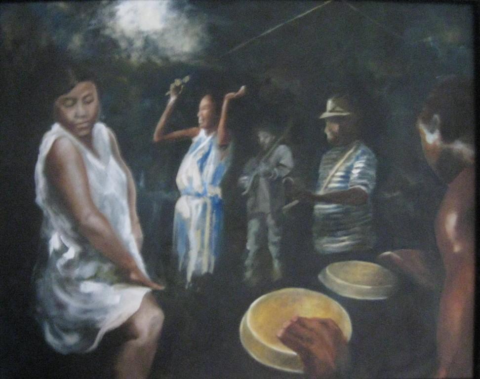 """Juke Joint""  16""x20"" Oil on canvas"