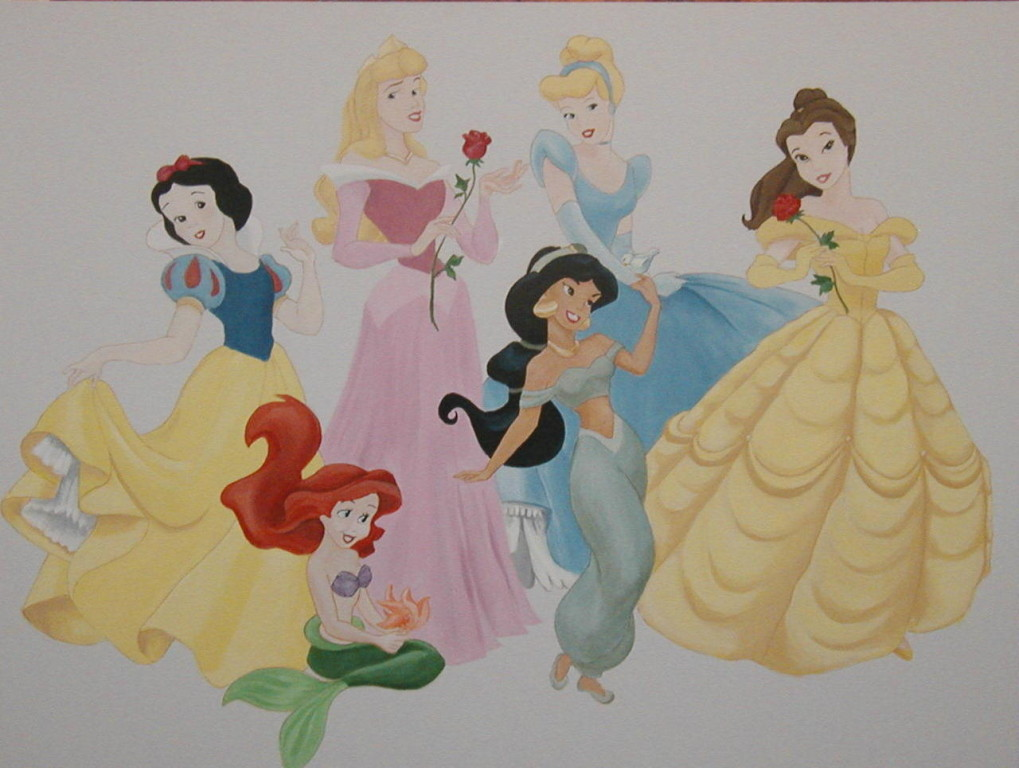 Disney Princesses (private residence)