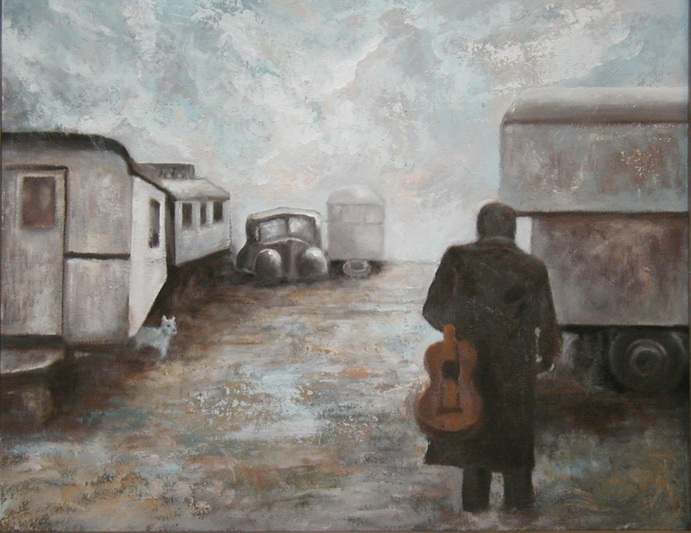 """Returning Home""   18""x24""  Oil on canvas"