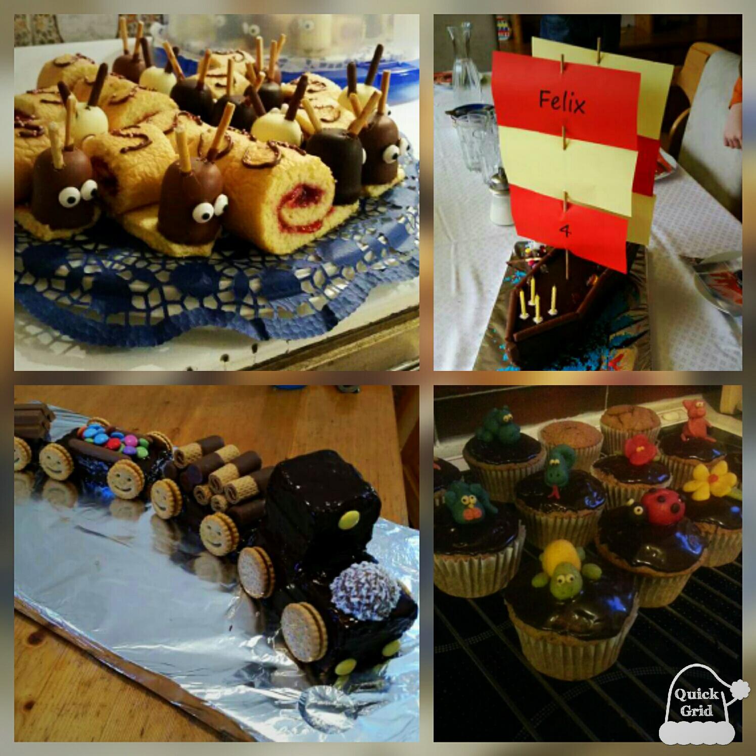 Diverse Geburtstagstorten