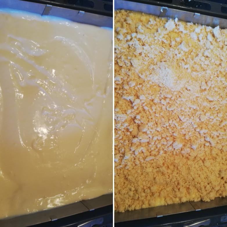 Puddingschicht / Streuselschicht