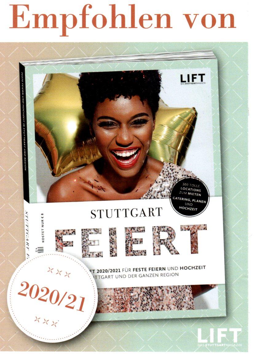 Auszeichnung von LIFT Stuttgart Feiert 20/21