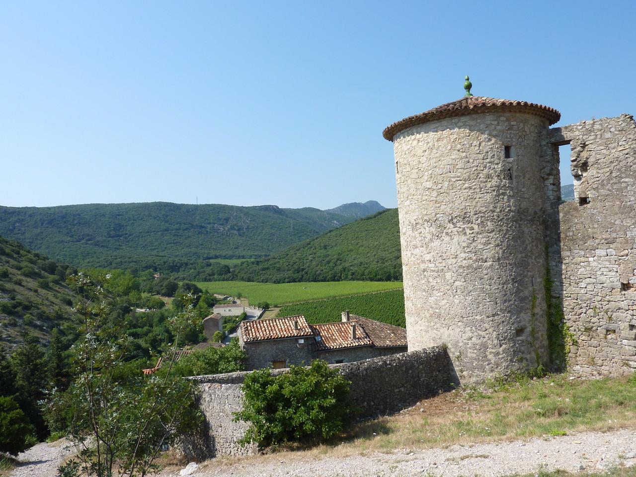 Saint Jean de Buèges, vue depuis le château