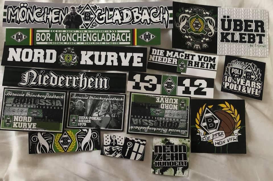 Büro Schreibwaren Sport Leuchtaufkleber Borussia
