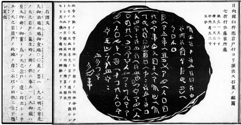 蓋石の碑文