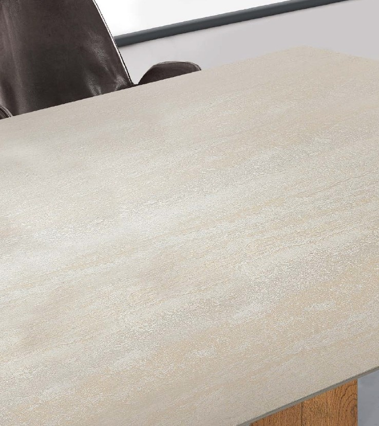 Keramikplatte, Travertinoptik