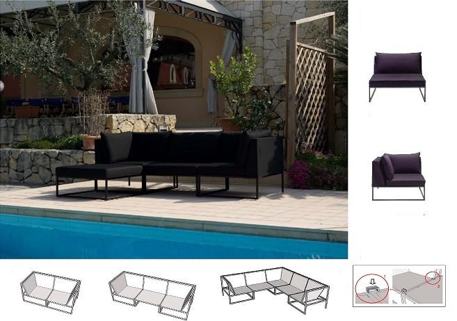 Outdoor Lounge, Outdoor Sofa, Outdoor Sitzmöbel