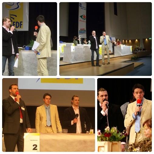 Moderation zur Silbernen Rose 2008 in Leipzig