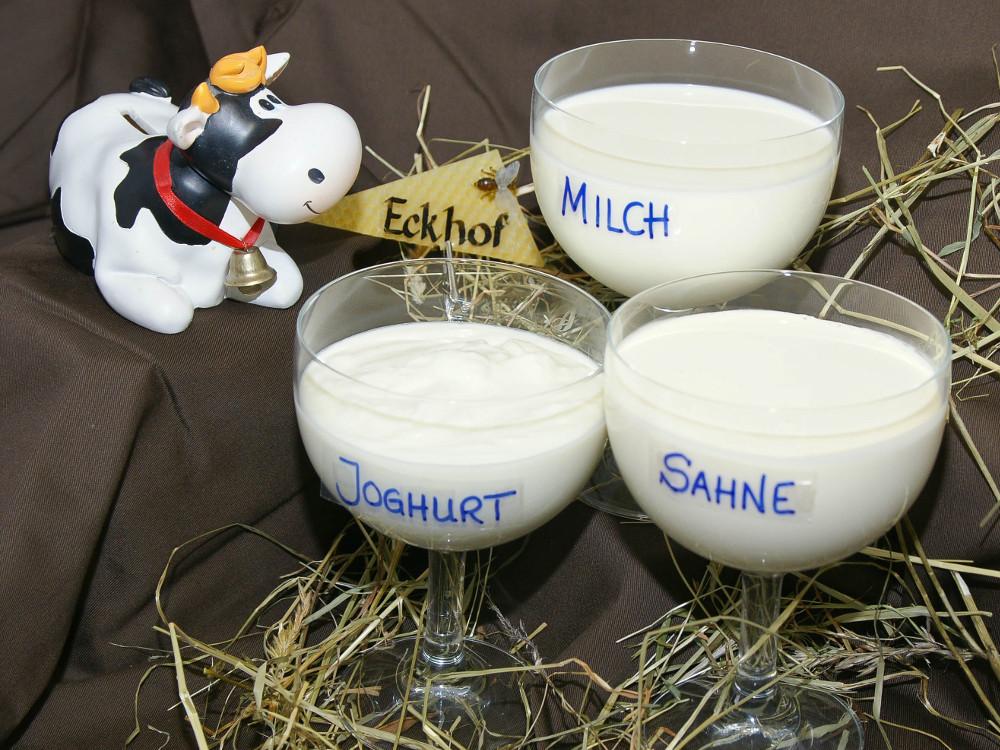 Milchprodukte vom Eckhof