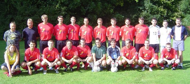 1. Mannschaft 2007/2008