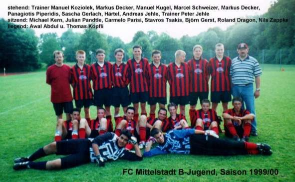 B-Jugend 1999/2000