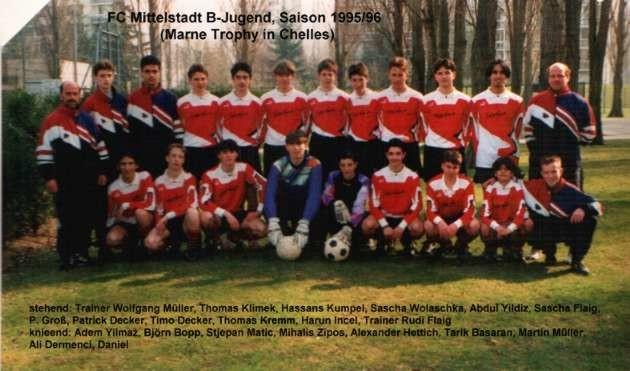 B-Jugend 1995/1996