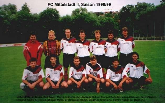 2. Mannschaft 1998/1999