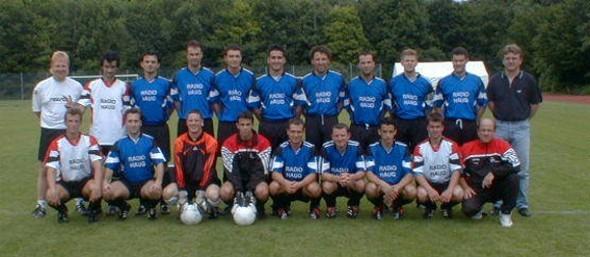 1. Mannschaft 2001/2002