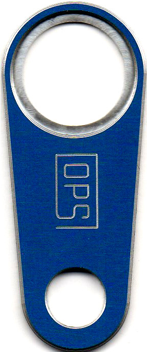 OPS XLR Steckerhalter blau