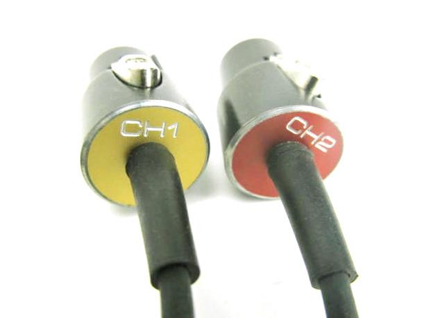 OPS-spezial XLR Stecker mit Beschriftung