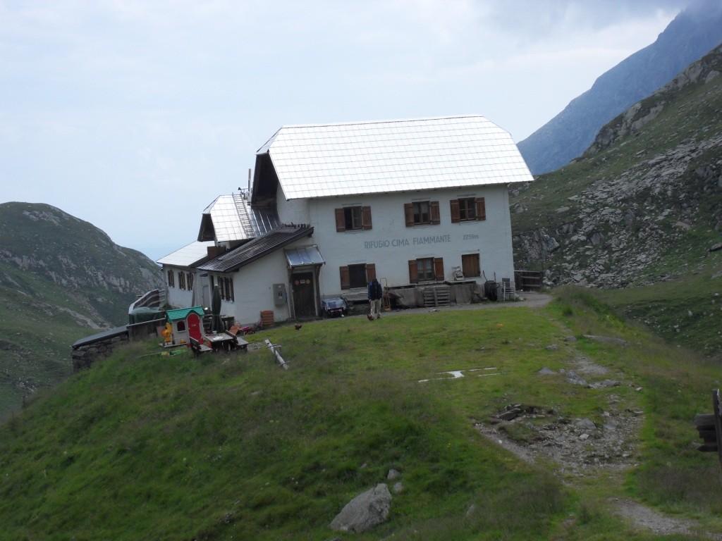 3.8.2012: Lodner Hütte (2.259 m) - Nächtigung