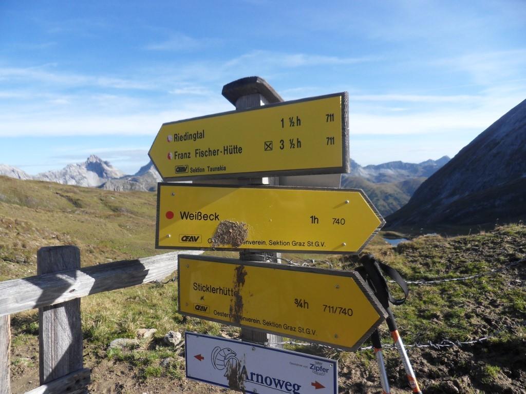 Riedingscharte 2.275 m