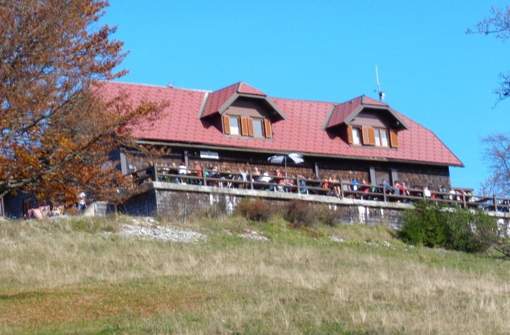Rückblick zur Traisnerhütte