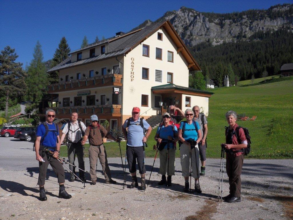 Start beim GH Wörschachwalderhof