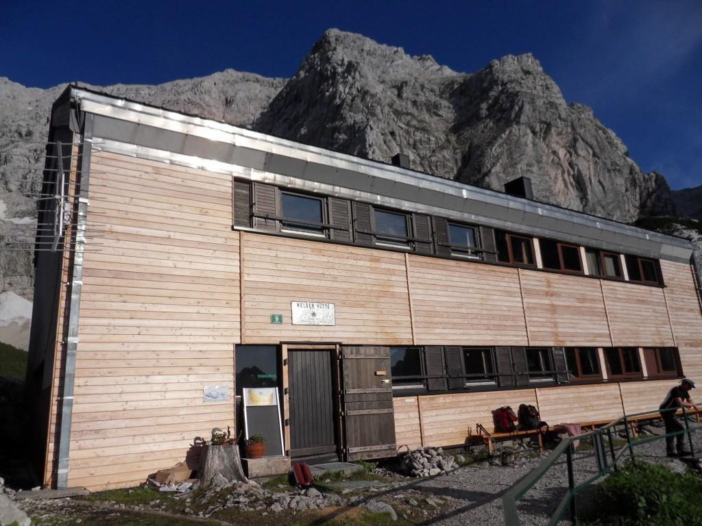 Tagesziel erreicht: Welser Hütte (1.726 m) - Nächtigung