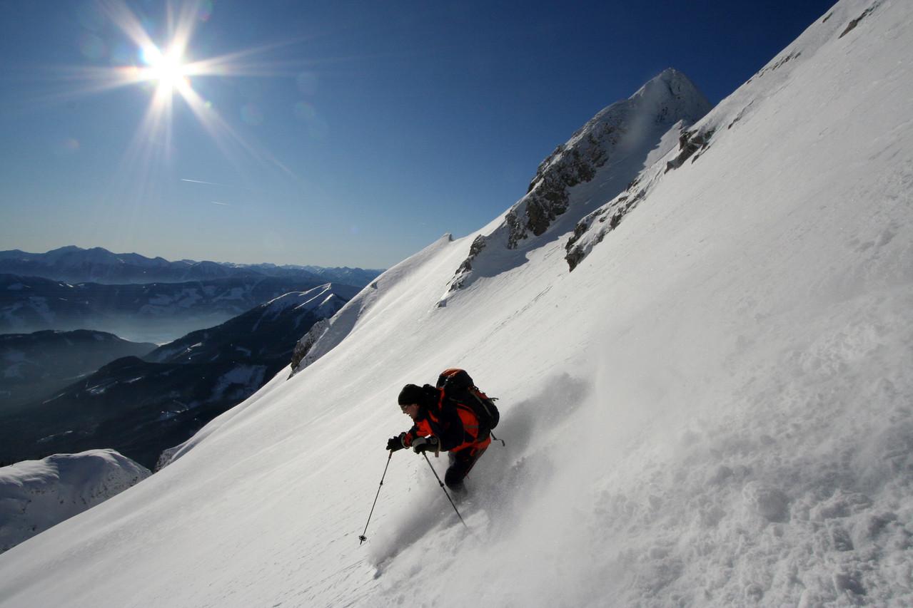 """Skitour Kreuzmauer"" von Mag. Peter Sykora"