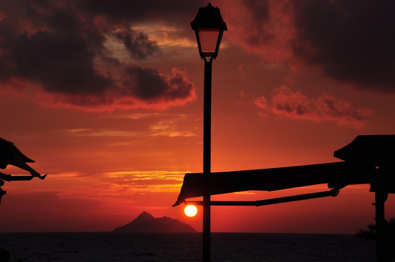 """""""Kretischer Sonnenuntergang"""" von Josef Jetzinger"""
