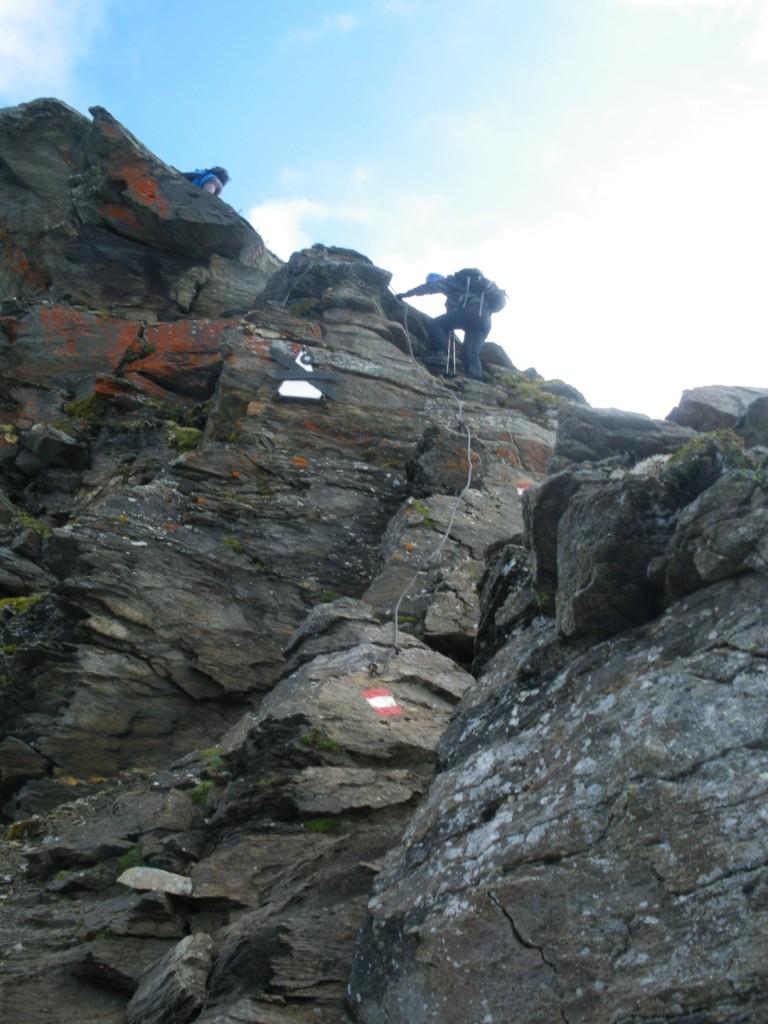 Aufstieg zum Neuner Kogel 2.827 m