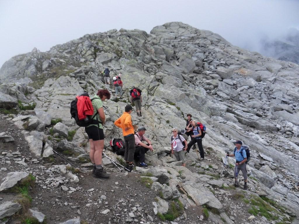 2.8.2012: über die Milchseescharte (2.707 m) zur Andelsalm (2.207 m)