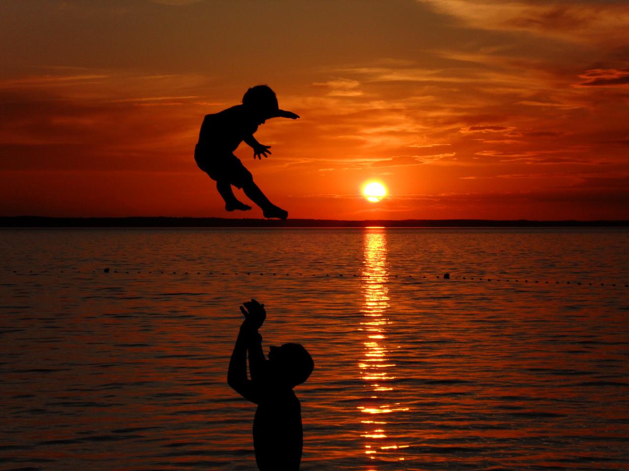 """""""Sonnenuntergang Kroatien"""" von Mag. Peter Sykora"""