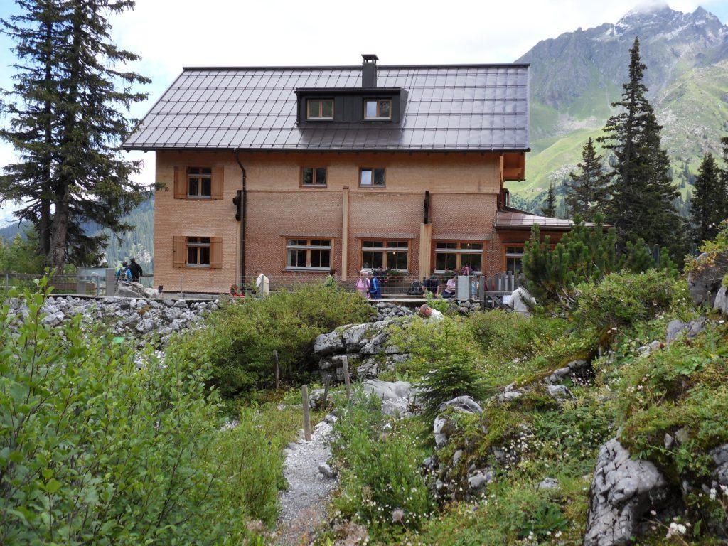 10.8.2011: Rückweg über Lindauer Hütte (1.744 m)